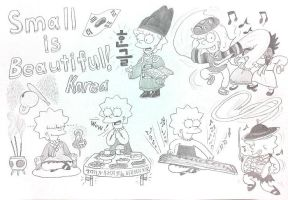 Lisa Simpson : Small is Beautiful ! by komi114