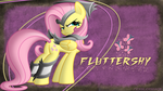 Fluttershy: The Most Adorable Badass (Wallpaper) by Fesslershy31