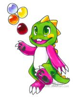 Bub -- Bust-A-Move by kalicothekat