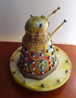 Delaunay Dalek by FifiCake