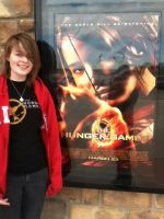 Meh and Hunger Games Poster by Ooakfeather