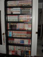 My Manga Library by SequinSuperNOVA