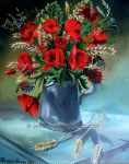 Poppies by Laurael