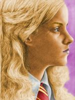 Colored Hermione Granger by nikki13088