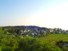 TiltShift Set 1 - Monhegan by photos