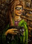 Lady with a Raccoon by darthblade