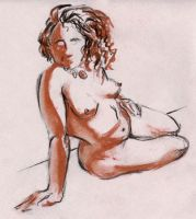 Life Drawing 5 by teague