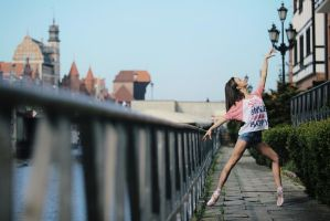 Ballerina, Gdansk by PhotoYoung