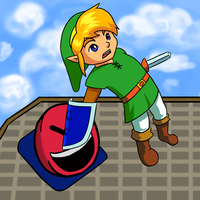 a link to the past 2 fanart by dottedwood