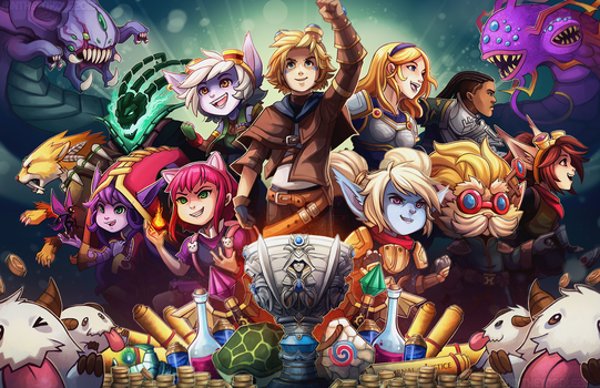 League of Legends: PAX EAST by RinTheYordle