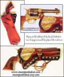 Holster w/ Etched Brass - Replica Engrave Revolver by Steampunked-Out