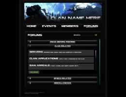 Bad Company 2 Clan Webpage Pg4 by BrotherPrime