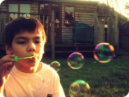 Bubbles II by cupidity6