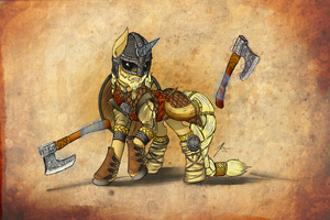 Viking Pony by Wreky