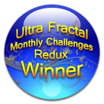 Ultra Fractal Monthly Challenge Redux-Badge by jim373