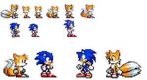 classic tails gba sprites by BerserkerOx
