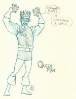 21 - Queen Man by DBed