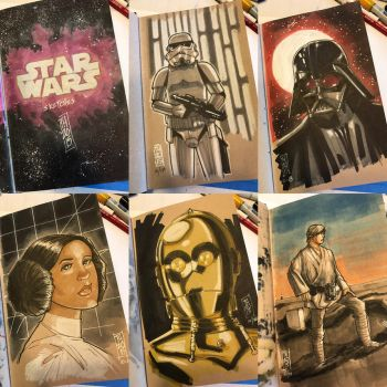 The Star Wars Sketch Book 01 by Hodges-Art