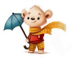 Rupert Bear Sketch by Cryptid-Creations