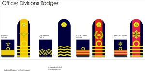 Naval Officer Division Badges New 2 by Ienkoron