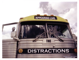 The Distractions Band Flyer 2 by LoranJSkinkis