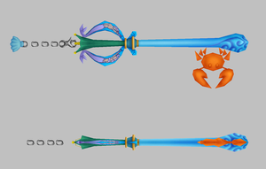 crabclaw keyblade by finaformsora