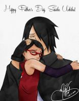 Happy Father's Day Sasuke by SassyLilPanda