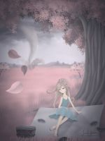 Pink Picnic Dream 1 by KittyCarousel
