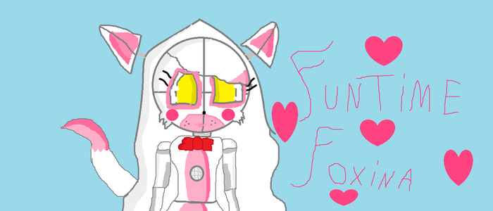 Funtime Foxina by funtimefoxylover