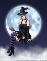 Halloween Witch 2 by Emoon18