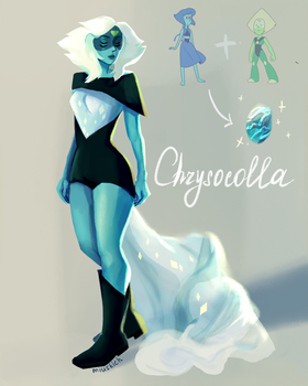 chrysocolla by Miushich