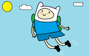 Finn loves flying by domoqueen16