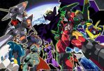 The mechas of anime by Nitrox8