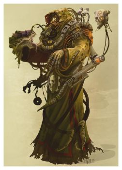Magos Xenologist by ning