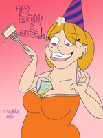 Easter Birthday by qwertypictures