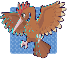 022 Fearow by Miss-Glitter