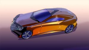 Mercedes concept. by vlda