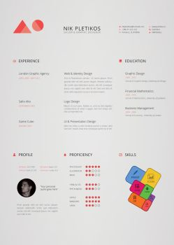 Creative Resume by Jones500