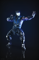 Sub-Zero MK X portrait render by ArRoW-4-U