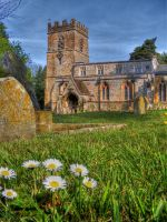 Chacombe Church by s-kmp