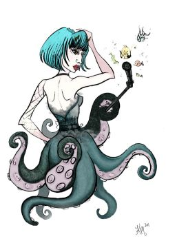 OctoGaGa by Warly