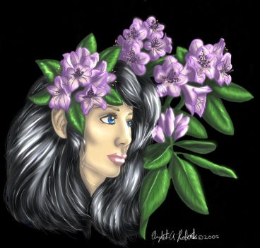 Rhododendron Lady by LizRd
