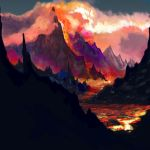 Volcanic Colors by AaronGarcia