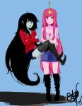 Princess Bubblegum And Marceline by Smeesha1996