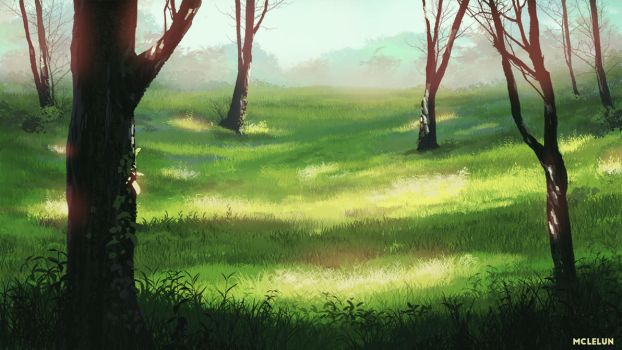 Woods by mclelun