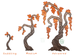 Time Bean Tree stages by griffsnuff