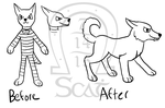 Galacticats - Space Dogs Redesign by AnScathMarcach