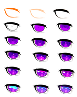 Chibi/anime eye tutorial by Saige199