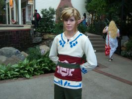 Skyloft Link Cosplay Katsucon 18 2012 by SmoresDragon