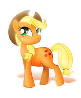 Applejack (Alpha Channel) by nicolaykoriagin